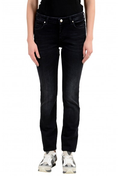 Versace Collection Embellished Women's Slim Fit Jeans