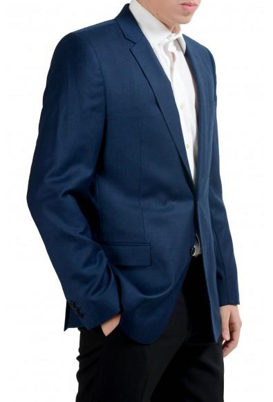 Versace Collection Men's 100% Wool Blue Blazer Sport Coat : Picture 2