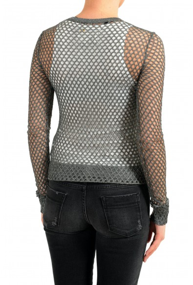 Maison Margiela Women's Sparkling See Through Cardigan Sweater: Picture 2