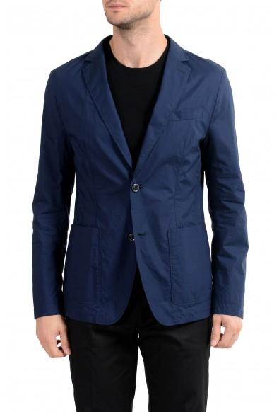 "Hugo Boss ""Nilai-W"" Men's Blue Two Button Blazer Sport Coat"
