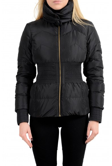Versace Collection Women's Down Full Zip Parka Jacket With Adjustable Collar: Picture 2