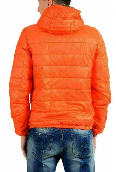Just Cavalli Men's Full Zip Reversible Hooded Insulated Parka Jacket: Picture 2