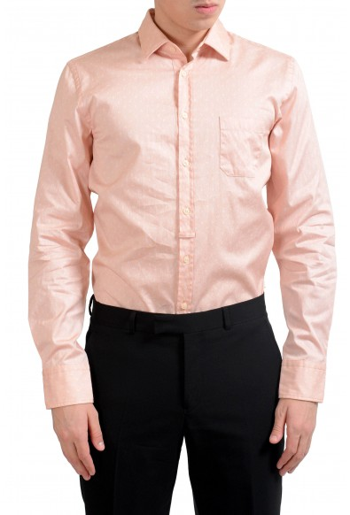 "Hugo Boss Orange Slim Fit ""EslimE_1"" Men's Long Sleeve Casual Shirt"