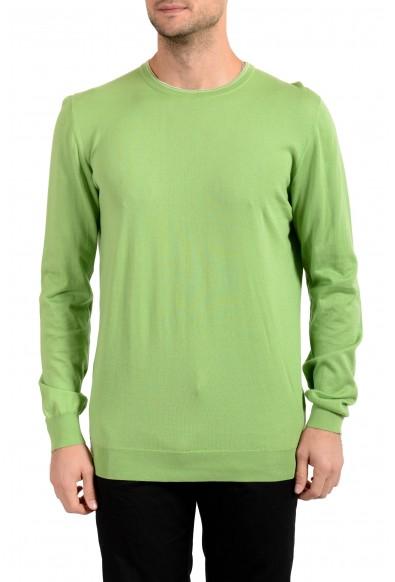 Kiton Men's Green Crewneck Pullover Sweater