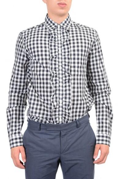 Prada Men's Multi-Color Dress Shirt