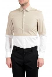 "Hugo Boss ""Jeven"" Men's Slim Two Tones Long Sleeve Dress Shirt: Picture 5"