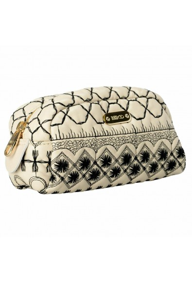 Red Valentino Women's 100% Leather Embroidered Cosmetic Bag: Picture 2