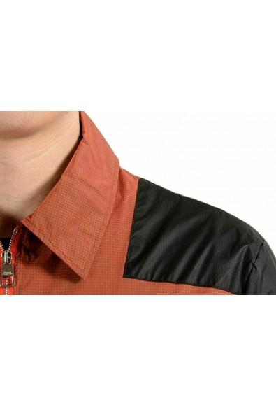 Versace Collection Men's Multi-Color Full Zip Windbreaker Jacket: Picture 2