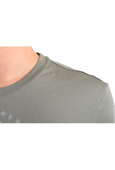 Versace Collection Men's Gray Graphic Short Sleeve T-Shirt: Picture 2