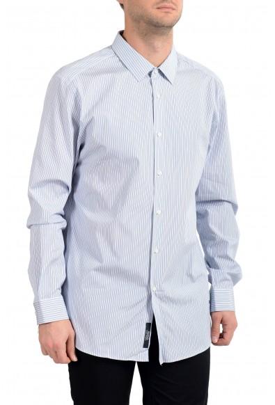 "Hugo Boss Men's ""T-Charlie"" Striped Slim Fit Long Sleeve Dress Shirt"