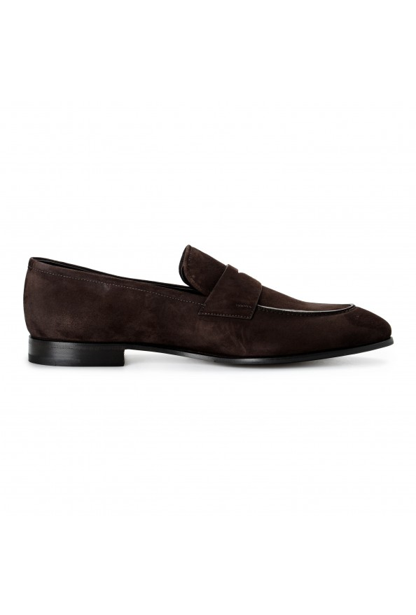 """Prada Men's """"2DB185"""" Brown Suede Leather Loafers Slip On Shoes: Picture 5"""