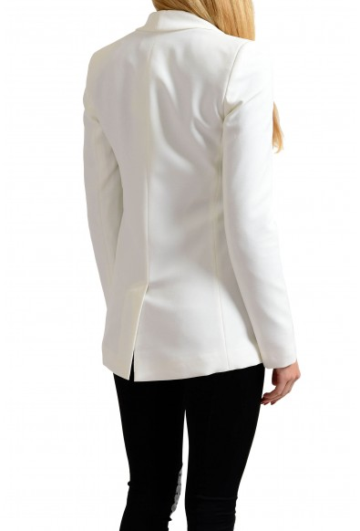 Versace Jeans White One Button Women's Blazer: Picture 2