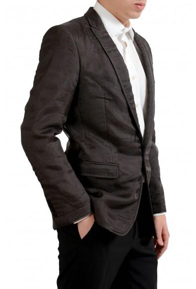 "Dolce & Gabbana ""Martini"" Men's Wool Silk Brown Blazer Sport Coat : Picture 2"