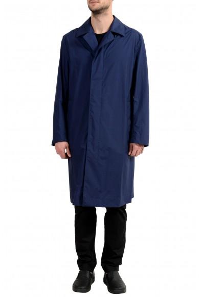 "Hugo Boss ""Dario"" Men's Navy Blue Trench Coat"
