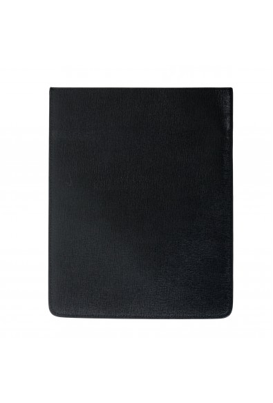 Versus Versace Black Textured Leather Cover Case: Picture 2