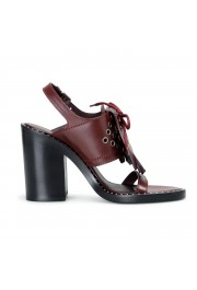 Burberry London Women's Beverley Leather Ankle Strap Heeled Sandals Shoes: Picture 6