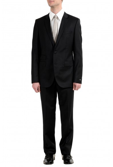 """Hugo Boss """"The King/Central_1"""" Men's 100% Wool Two Button Suit"""