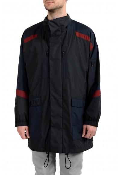 "Hugo Boss ""Benedick1921"" Men's Full Zip Multi-Color Windbreaker Jacket"