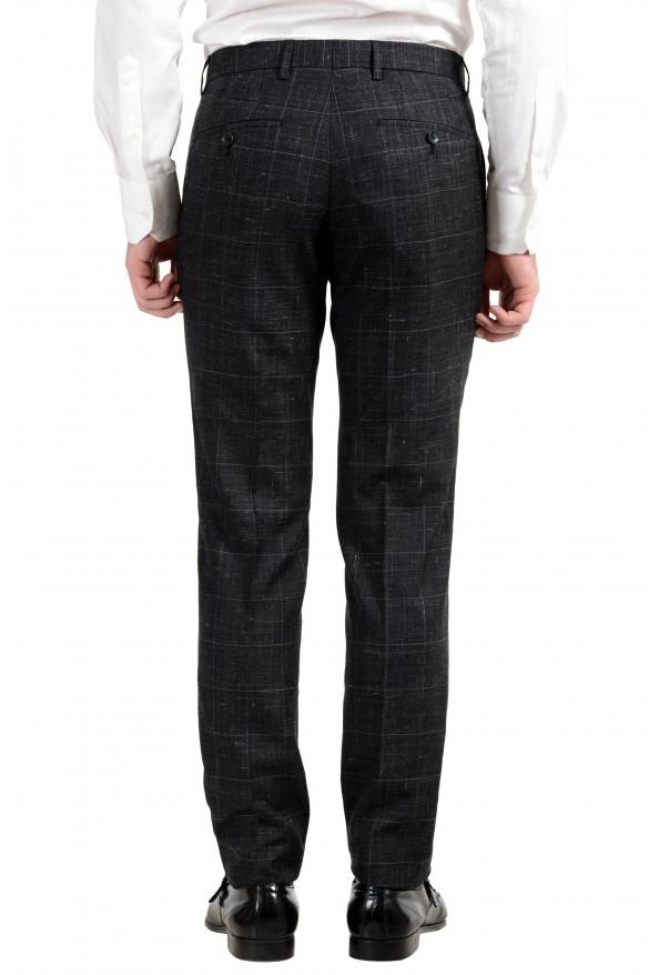 """Hugo Boss """"Huge6/Genius5"""" Men's Linen Silk Wool Slim Fit Gray Two Button Suit: Picture 3"""