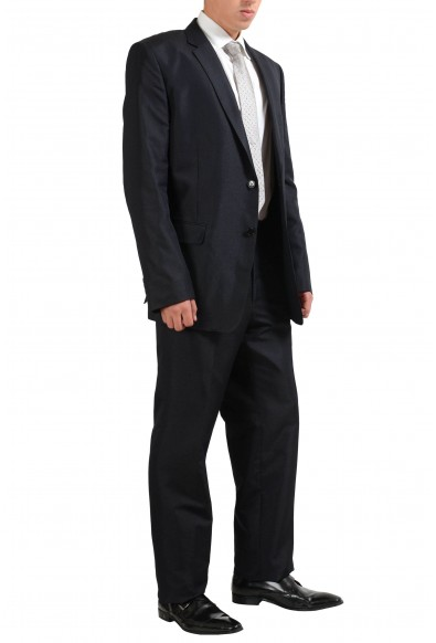 Versace Collection Wool Silk Gray Two Button Men's Suit: Picture 2