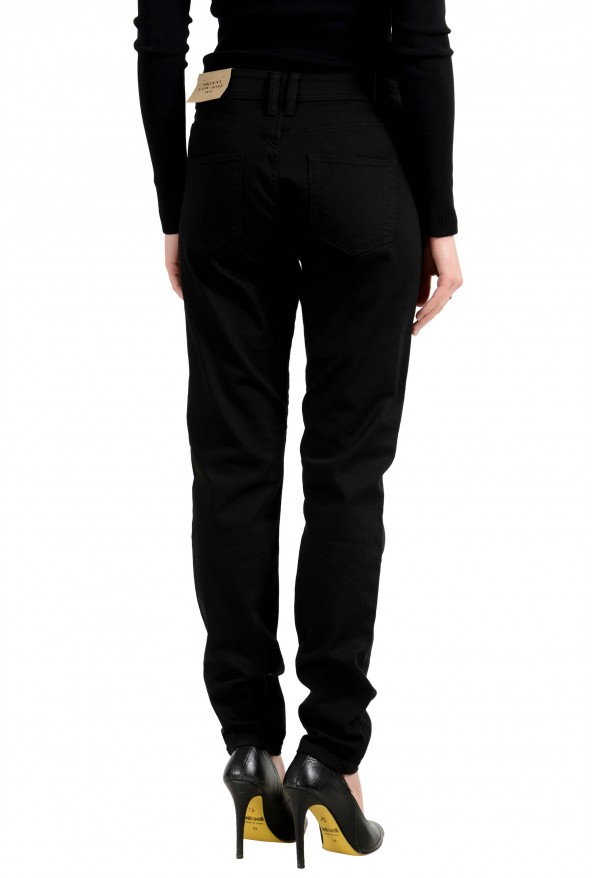 Burberry London Women's Black Low Rise Skinny Stretch Jeans: Picture 3