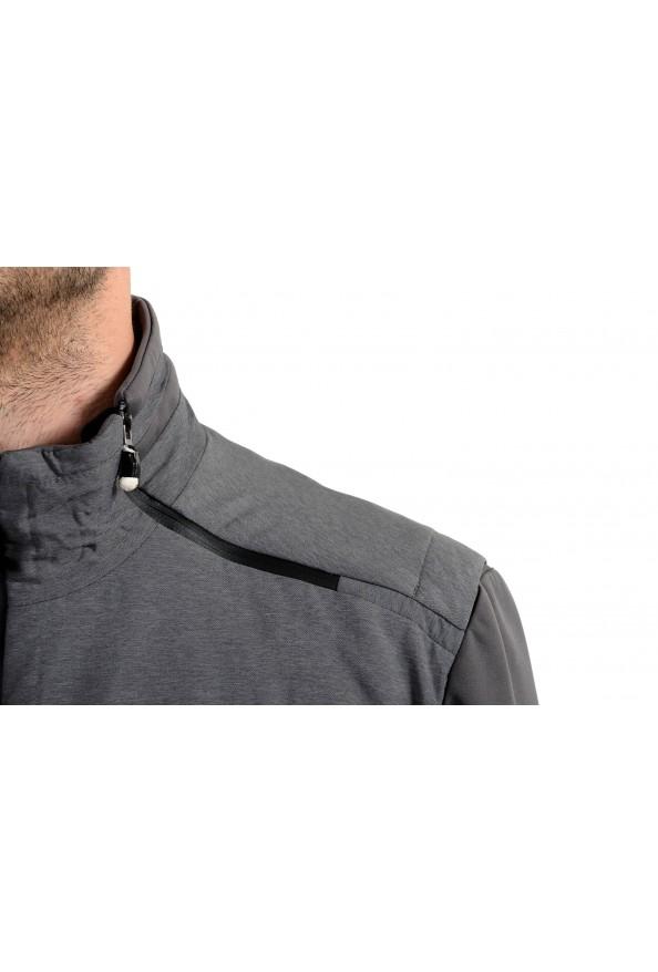 """Hugo Boss """"Jamick Pro"""" Men's Gray Zip Windbreaker Jacket: Picture 4"""
