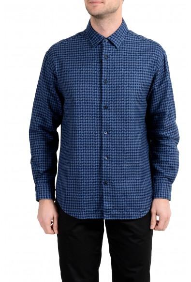 "Hugo Boss ""Noah"" Men's Relaxed Fit Blue Long Sleeve Casual Shirt"