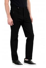Versace Collection Men's Black Casual Pants: Picture 2