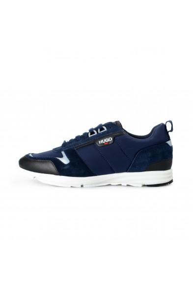 "Hugo Boss Men's ""Hybrid_Runn_nylt"" Leather Fashion Sneakers Shoes : Picture 2"