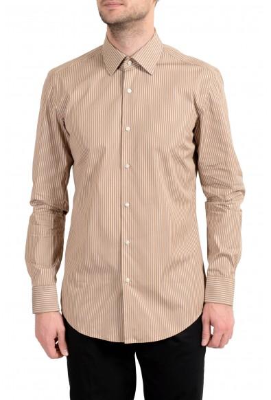 "Hugo Boss ""Jango"" Men's Slim Striped Long Sleeve Dress Shirt"