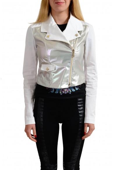Versace Jeans Multi-Color Full Zip Women's Basic Jacket