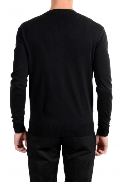 Roberto Cavalli Men's Cashmere Black Cardigan Sweater: Picture 2