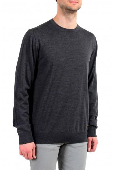 Versace Men's 100% Wool Gray Crewneck Pullover Sweater : Picture 2
