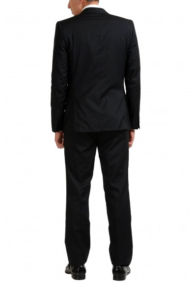 Versace Collection 100% Virgin Wool Black Two Button Men's Suit: Picture 2