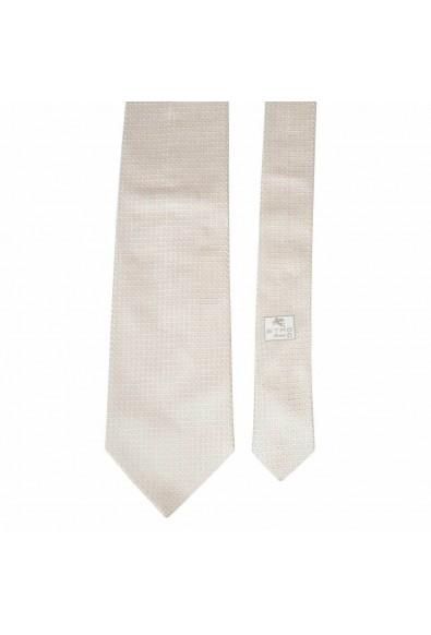 Etro Men's 100% Silk Beige Neckwear Tie: Picture 2
