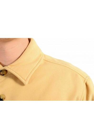 Malo Men's Beige Button Up Jacket : Picture 2