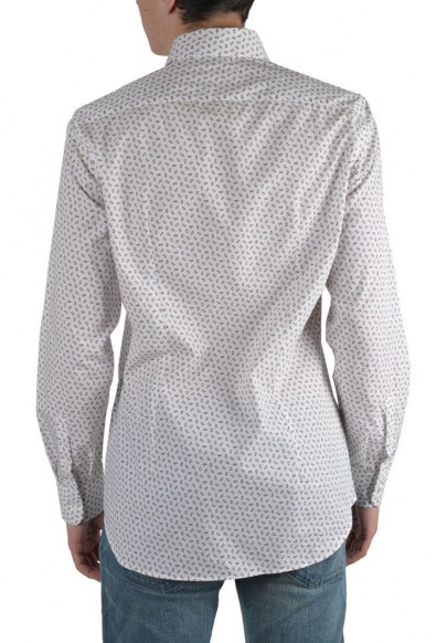 Prada Men's Multi-Color Long Sleeve Dress Shirt: Picture 2
