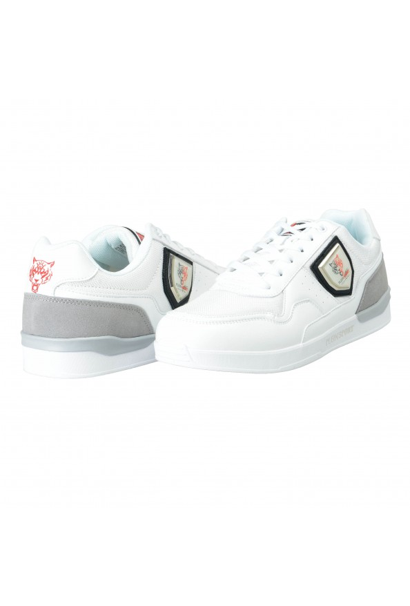 """Plein Sport """"Unseld"""" White Fashion Sneakers Shoes: Picture 3"""