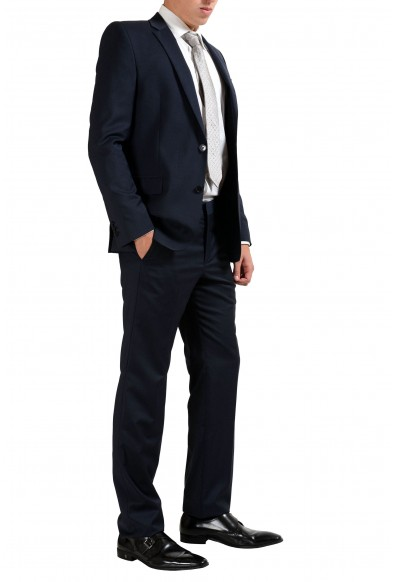 Versace Collection 100% Wool Navy Two Button Men's Suit: Picture 2