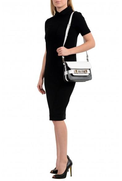 Proenza Schouler Women's Multi-Color Textured Leather Clutch Shoulder Bag: Picture 2