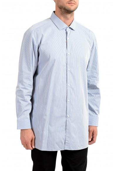 "Hugo Boss Men's ""EastonX"" Slim Fit Striped Long Sleeve Dress Shirt"