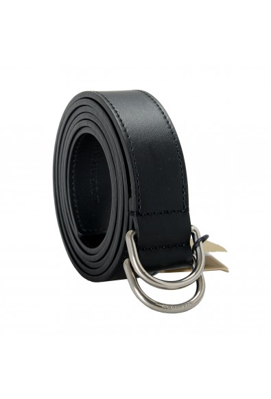 Burberry Men's Black 100% Leather Belt