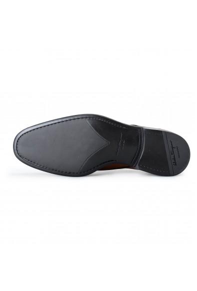 "Salvatore Ferragamo Mens ""Aramix1"" Brown Leather Oxfords Shoes: Picture 2"