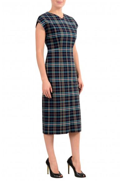 "Hugo Boss ""Daela"" Women's Plaid Sleeveless Sheath Dress: Picture 2"
