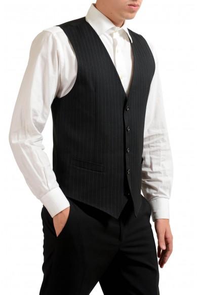 Dolce & Gabbana Men's 100% Wool Button Up Striped Dress Vest : Picture 2