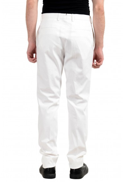 """Hugo Boss """"T-Gary1"""" Men's White Slim Fit Stretch Casual Pants: Picture 2"""