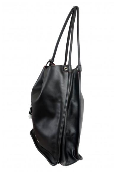 Proenza Schouler Women's Black Leather Tote Handbag Shoulder Bag: Picture 2