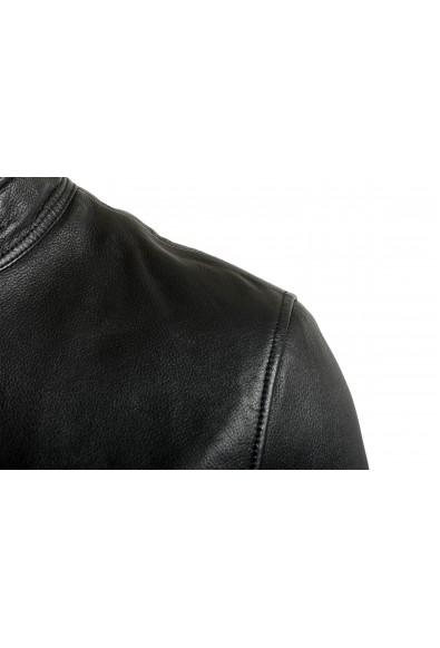 "Hugo Boss Men's ""Josep"" 100% Leather Black Bomber Jacket : Picture 2"