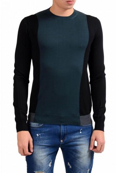 Prada Men's 100% Wool Crewneck Light Sweater
