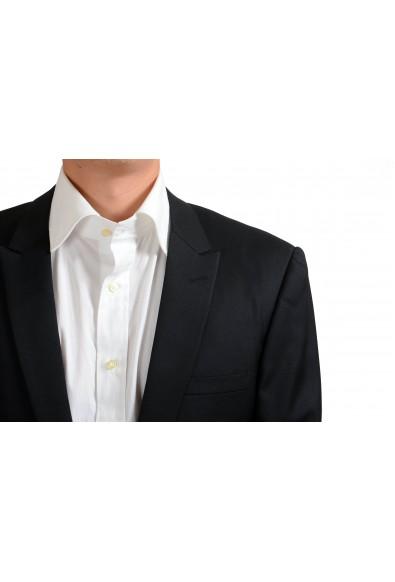 Gianni Versace 100% Wool Black One Button Blazer: Picture 2